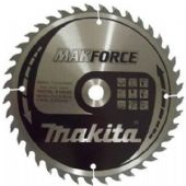 Makita 190x15.88mm TCT MakForce Circular Saw Blade - 40 Teeth (B-08492)